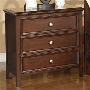 Winners Only Del Mar 3-Drawer Nightstand