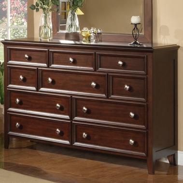 Winners Only Del Mar Del Mar 10-Drawer Dresser - Item Number: BDC1006