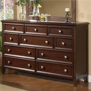Winners Only Del Mar Del Mar 10-Drawer Dresser