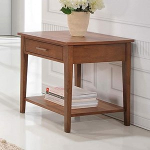 Winners Only Denmark Rectangular End Table