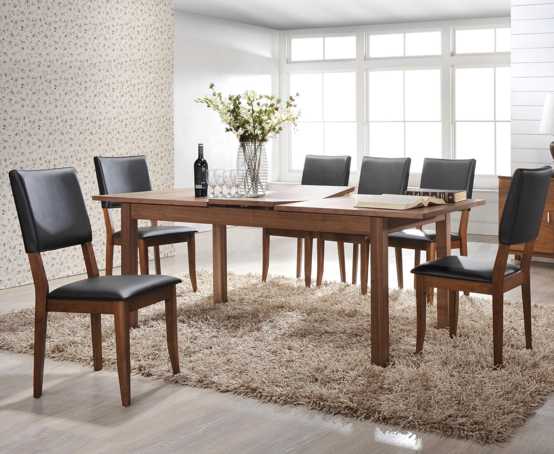 Winners Only Denmark 7 Piece Dining Set - Item Number: DD23579+6x2551SE