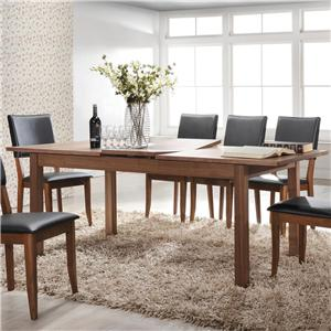 "Winners Only Denmark 79"" Leg Table with Butterfly Leaf"