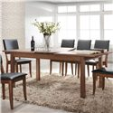 "Winners Only Denmark 79"" Leg Table with Butterfly Leaf - Item Number: DD23579"