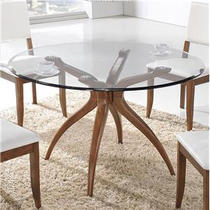 Winners Only Denmark Round Glass Table