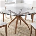 Winners Only Denmark Round Glass Table - Item Number: DD24848