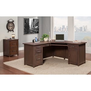 "66"" Wedge Desk"