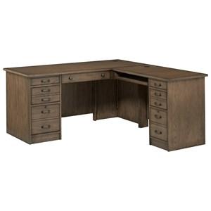 "64"" L-Shaped Desk"