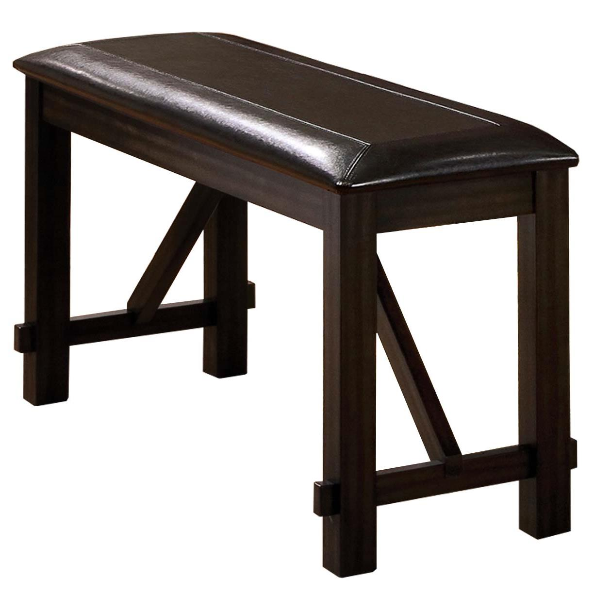 Winners Only Edgewater Dext145524 Counter Height Bench