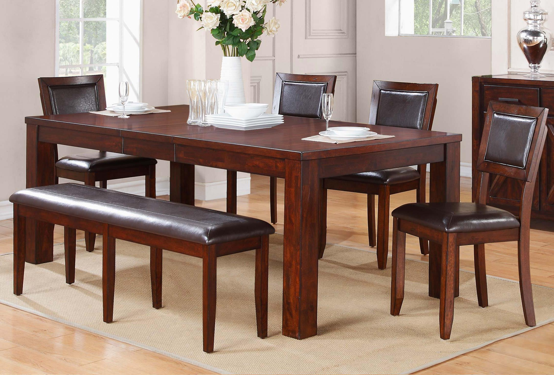 Winners Only Fallbrook 6 Piece Dining Set - Item Number: DFM14284+4x50S+5524