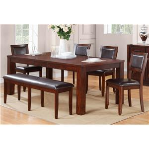 Winners Only Fallbrook 6 Piece Dining Set