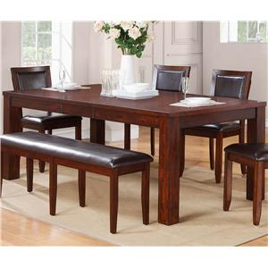 Winners Only Fallbrook Leg Table with Butterfly Leaf