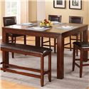 Winners Only Fallbrook Tall Leg Table - Item Number: DFMT16060