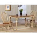 Winners Only Farmington 3 Piece Dining Set - Item Number: DF53247W+2x519SW