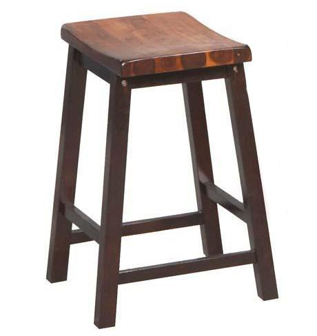 "Winners Only Fifth Avenue 24"" Saddle Barstool - Item Number: DFA55024"