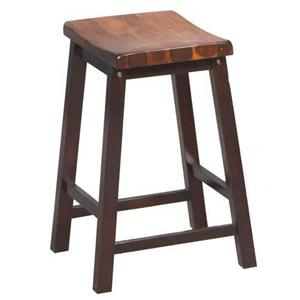 "Winners Only Fifth Avenue 24"" Saddle Barstool"