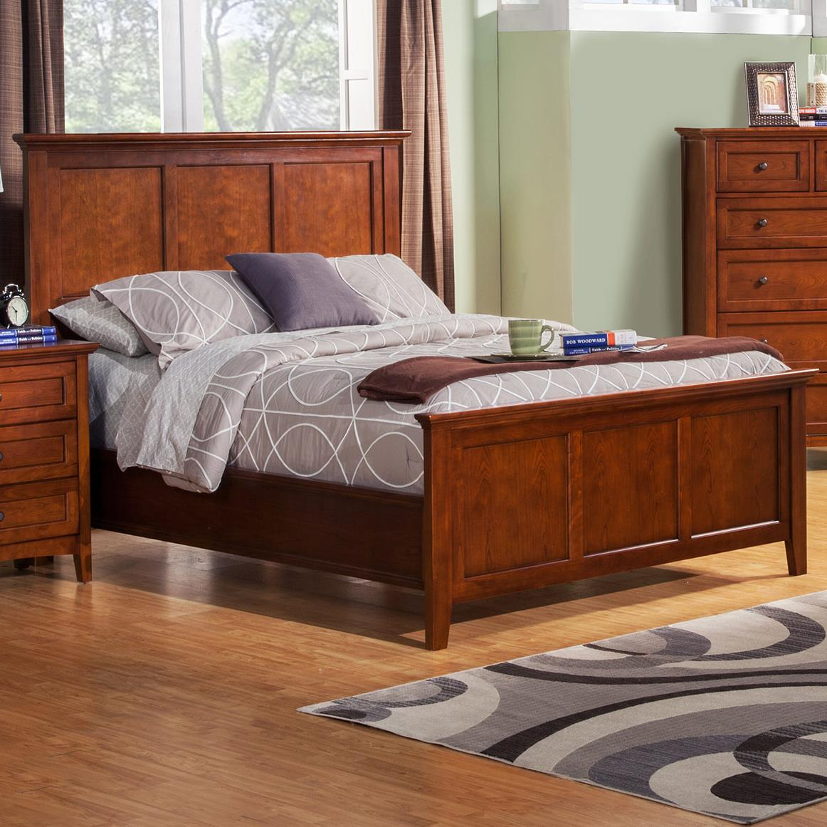 Winners Only Flagstaff Queen Panel Bed - Item Number: BFC1001Q