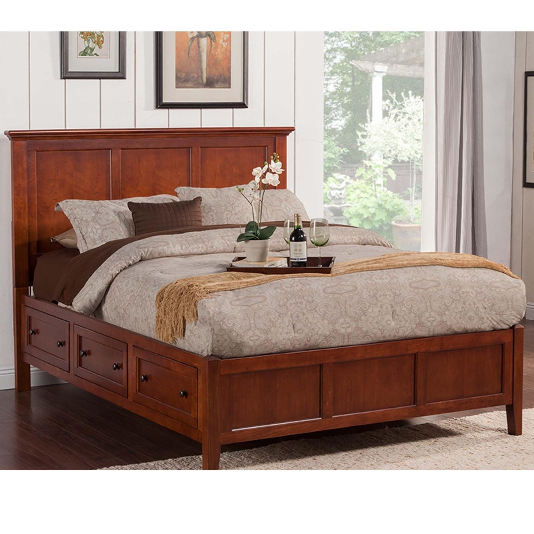 Ashley Furniture Flagstaff: Winners Only Flagstaff BFC1002QS 6 Drawer Queen Storage