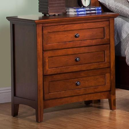 Winners Only Flagstaff Nightstand - Item Number: BFC1005A