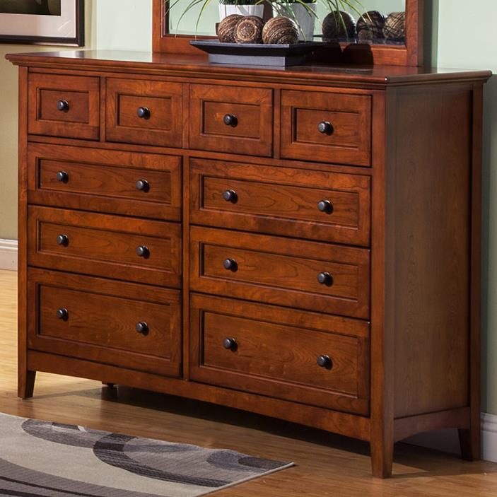 Winners Only Flagstaff Dresser - Item Number: BFC1006