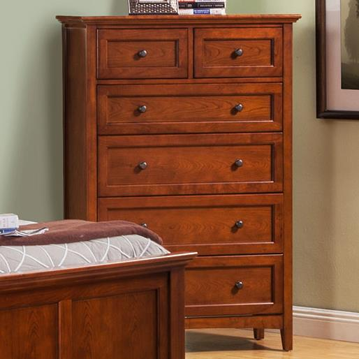 Winners Only Flagstaff Drawer Chest - Item Number: BFC1007