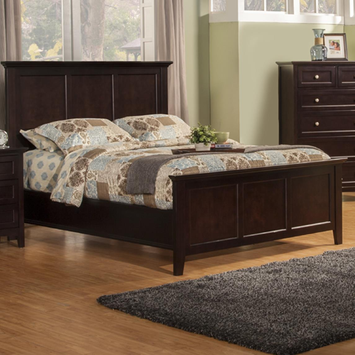 Winners Only Flagstaff King Panel Bed - Item Number: BFX1001K