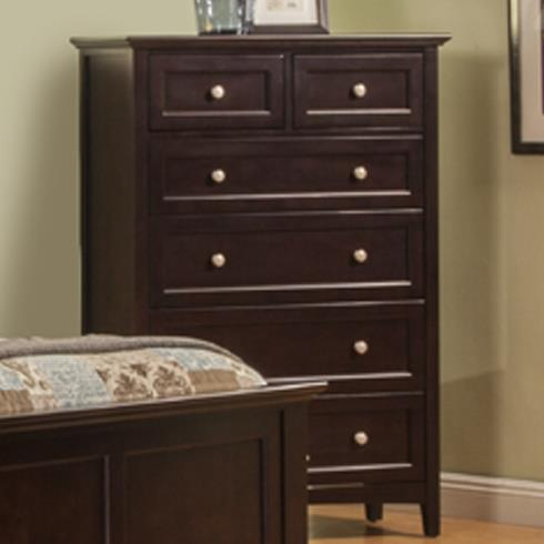 Winners Only Flagstaff Drawer Chest - Item Number: BFX1007