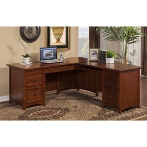 Desk with Return