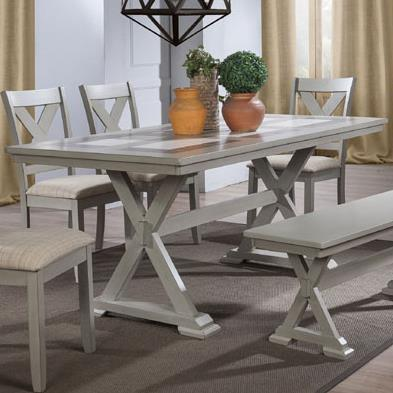 """Winners Only Florence 72"""" Tile Table - Item Number: DF13672G"""