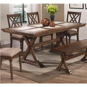 "Winners Only Florence 72"" Tile Table"