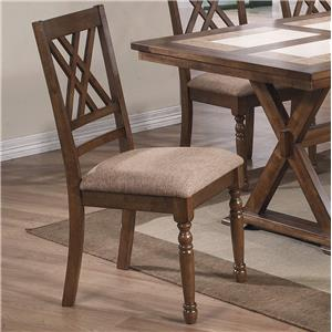 Winners Only Florence Double X Back Side Chair