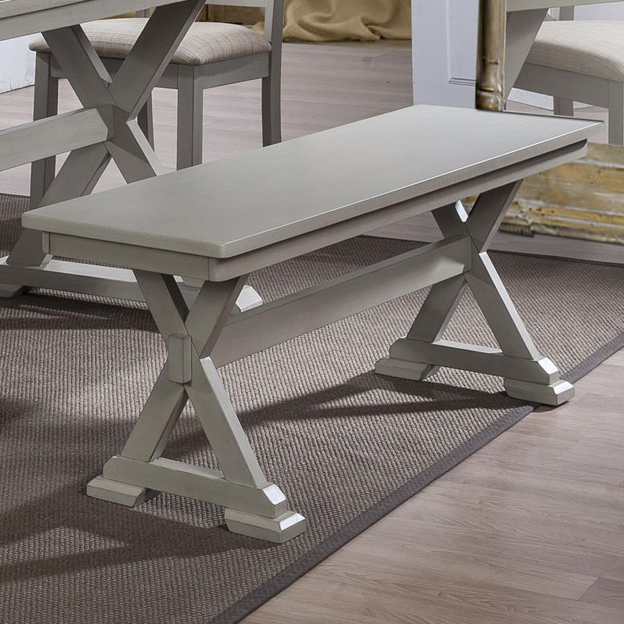 Winners Only Florence X Base Bench - Item Number: DF1455G