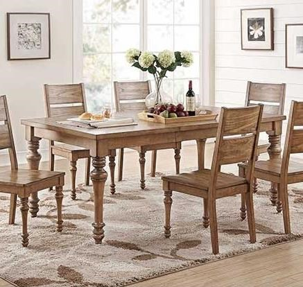 """78"""" Leg Table with 18"""" Leaf"""