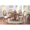 Winners Only Glendale 5-Piece Dining Set - Item Number: DG34866+4x51S