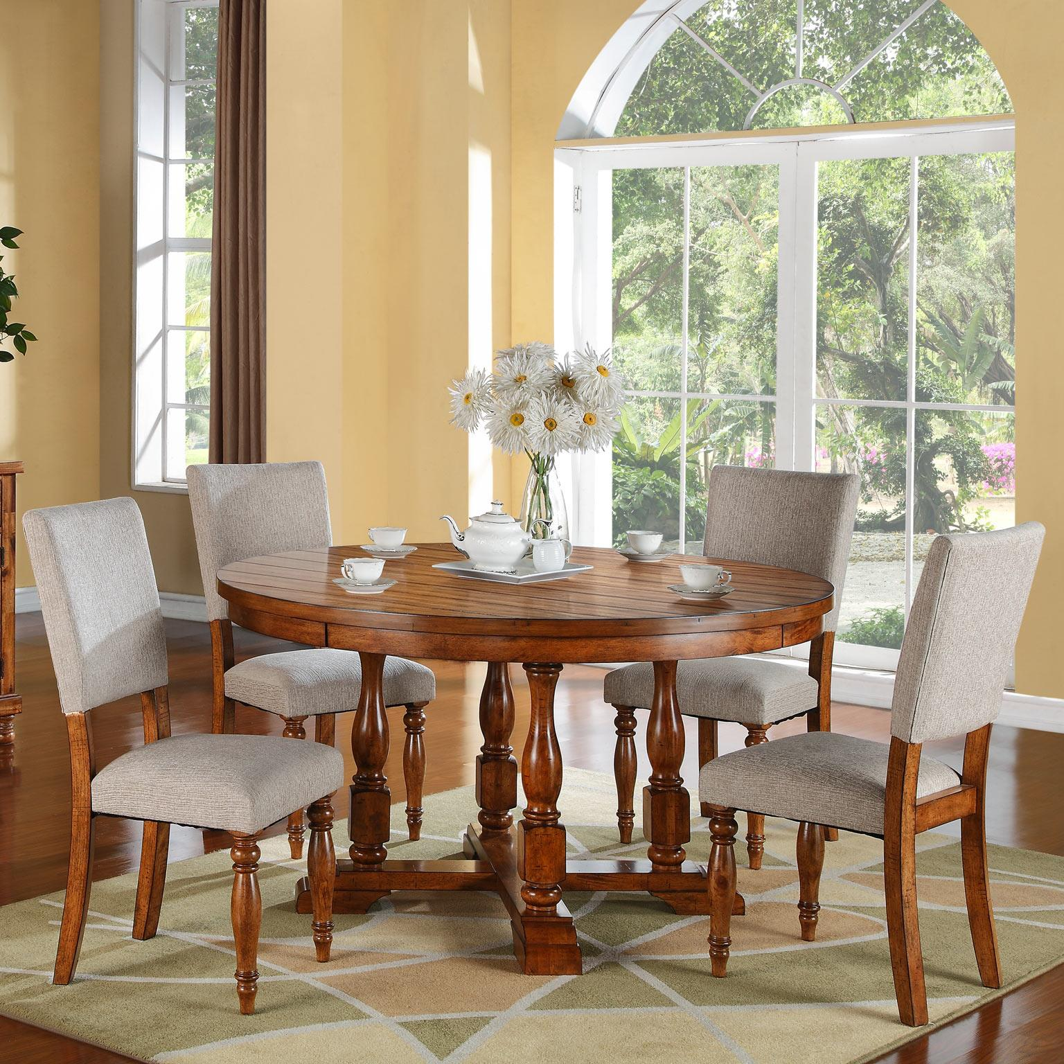 Grand Estate 5 Piece Table Chair Set Rotmans Dining 5 Piece Set Worcester Boston Ma