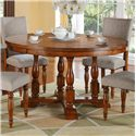 "Winners Only Grand Estate 58"" Round Table - Item Number: DG25858"
