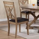 Winners Only Grandview X-Back Side Chair - Item Number: DFG1452S