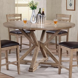 Winners Only Grandview Dropleaf Counter Height Table