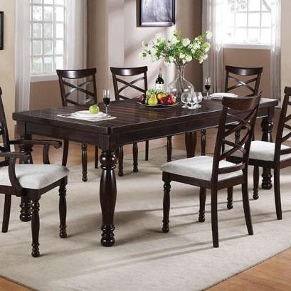 Winners Only Hamilton Park 90 Inch Leg Table - Item Number: DH14090