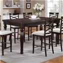 Winners Only Hamilton Park Tall Leg Table - Item Number: DHT14078
