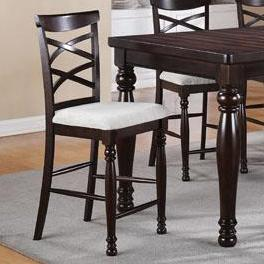 Winners Only Hamilton Park Double X-Back Stools - Item Number: DHT145024