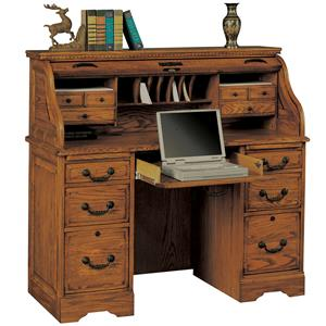 "Winners Only Heritage Oak 48"" Rolltop Desk"