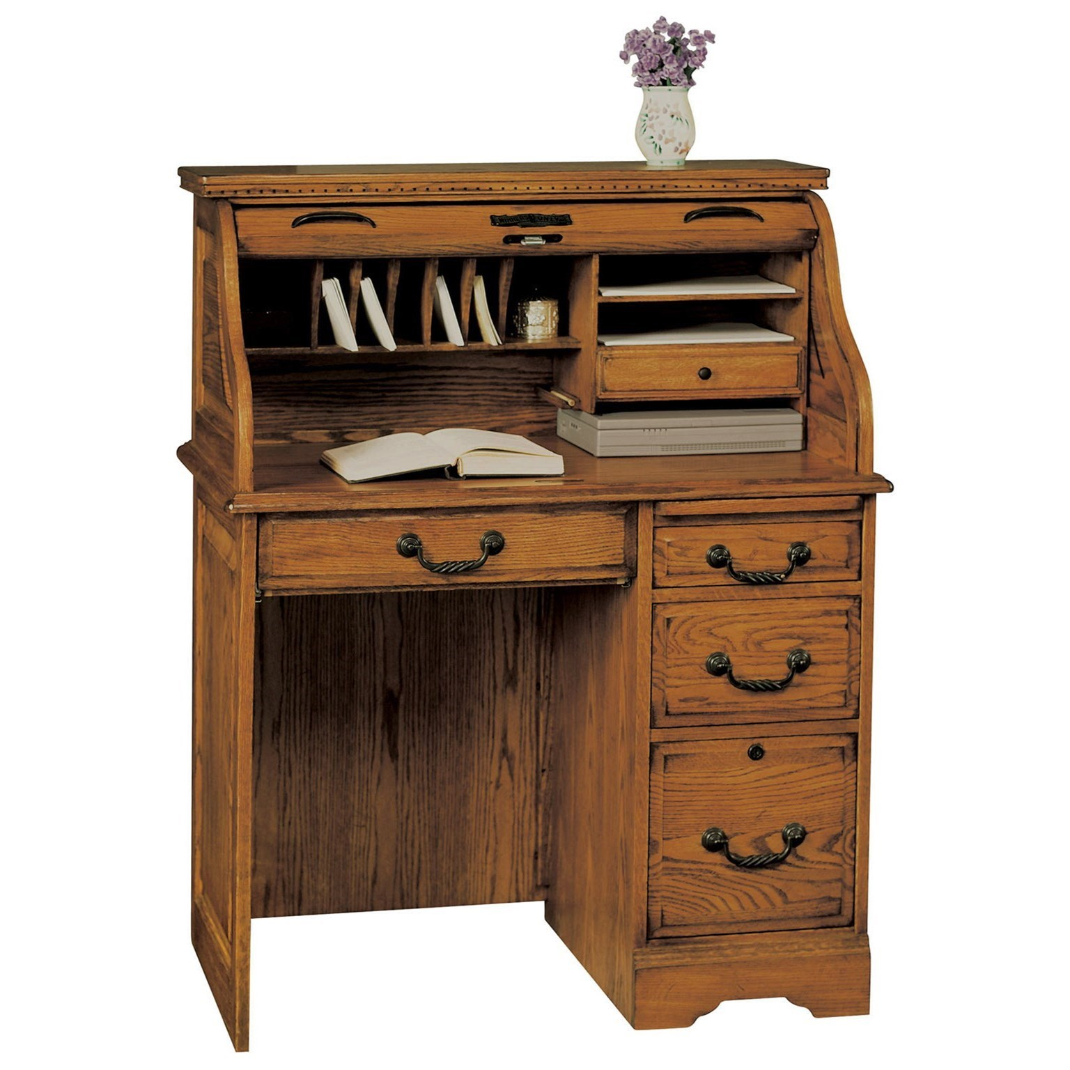 "Winners Only Heritage Traditional 36"" Roll Top Desk With"