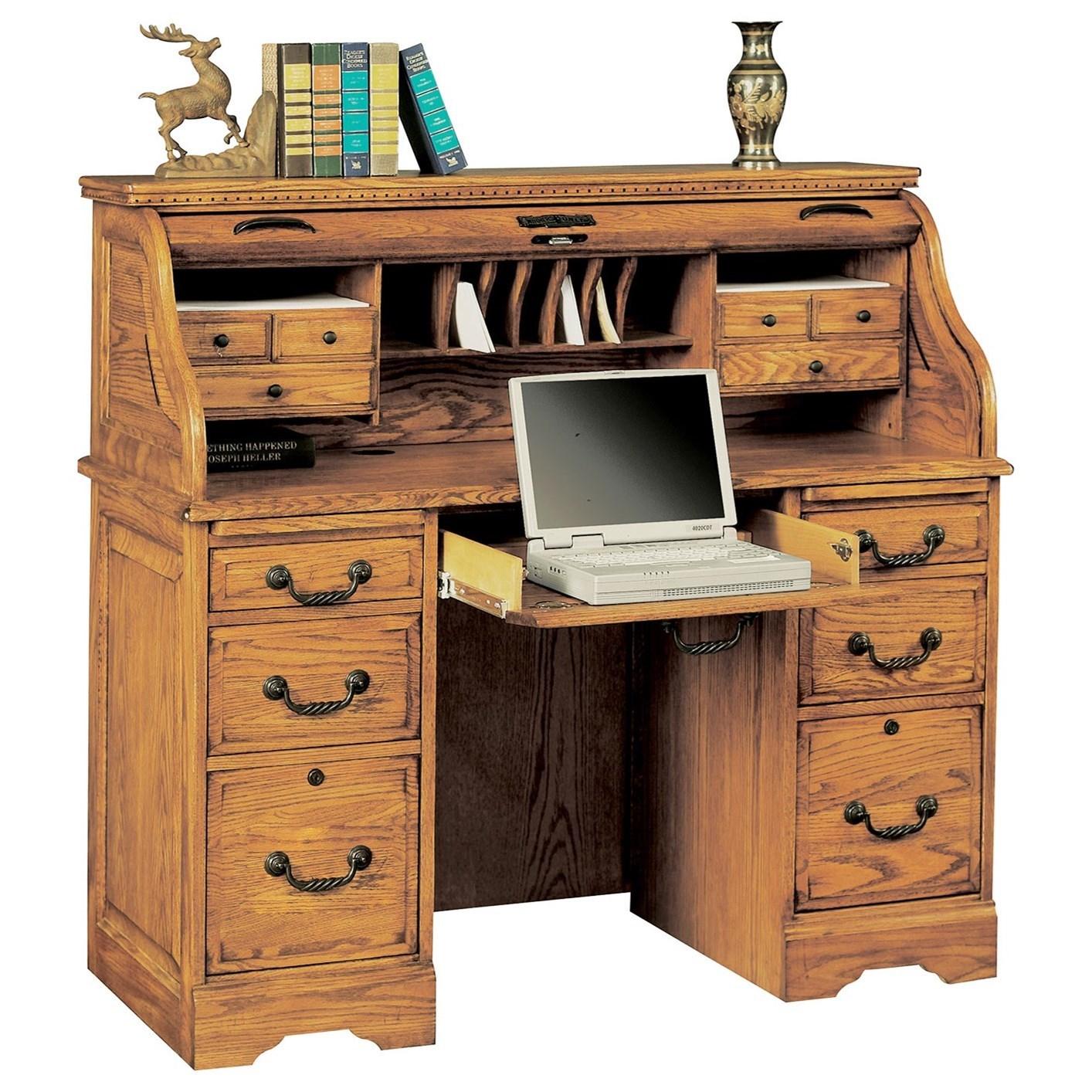 "Heritage 49"" Roll Top Desk"