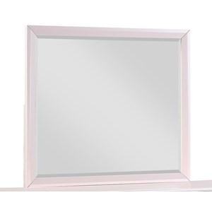 Transitional Dresser Mirror