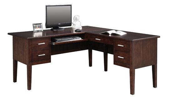 Perception 62 L Shape Desk With 40 Return Rotmans L