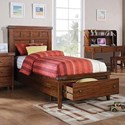 Winners Only Mango Full Panel Storage Bed - Item Number: BMG1001FS