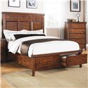 Winners Only Mango Queen Panel Storage Bed - Item Number: BMG1001QS