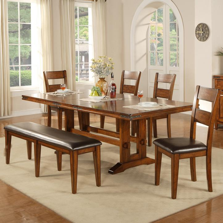 Winners Only Colton 6 Piece Dining Table And Chair Set   Item Number:  DMG4492+