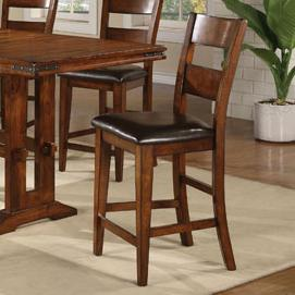 "Winners Only Mango 24"" Ladderback  Barstool - Item Number: DMGT45024"