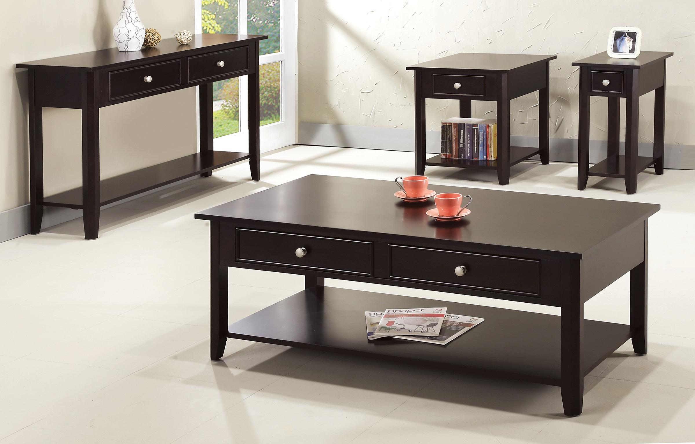 Metro 2 Drawer Coffee Table Rotmans Cocktail Coffee Tables